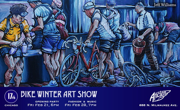17th Chicago Bike Winter Art Show